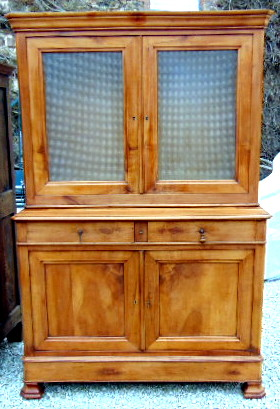 BUFFET 2 CORPS LOUIS PHILIPPE / 2 PARTS SIDEBOARD LOUIS PHILIPPE