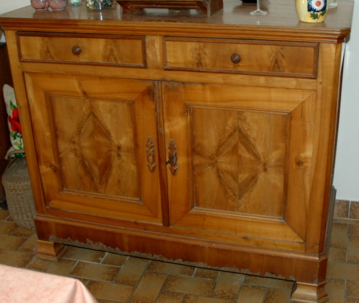 BUFFET STYLE LOUIS PHILIPPE / LOUIS PHILIPPE STYLE SIDEBOARD