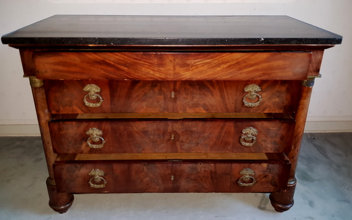 COMMODE EMPIRE / EMPIRE CHEST OF DRAWERS