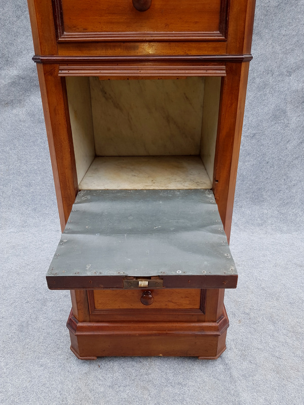 CHEVET CHIFFONNIER MERISIER / CHERRY WOOD BEDSIDE TABLE