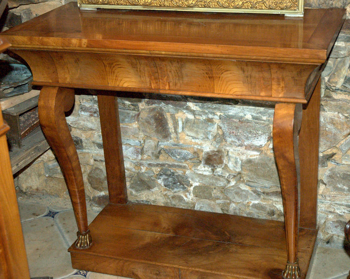CONSOLE MERISIER LOUIS PHILIPPE / CHERRYWOOD CONSOL