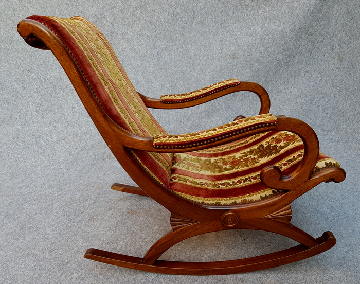 ROCKING CHAIR ANGLAIS / ENGLISH ROCKING CHAIR