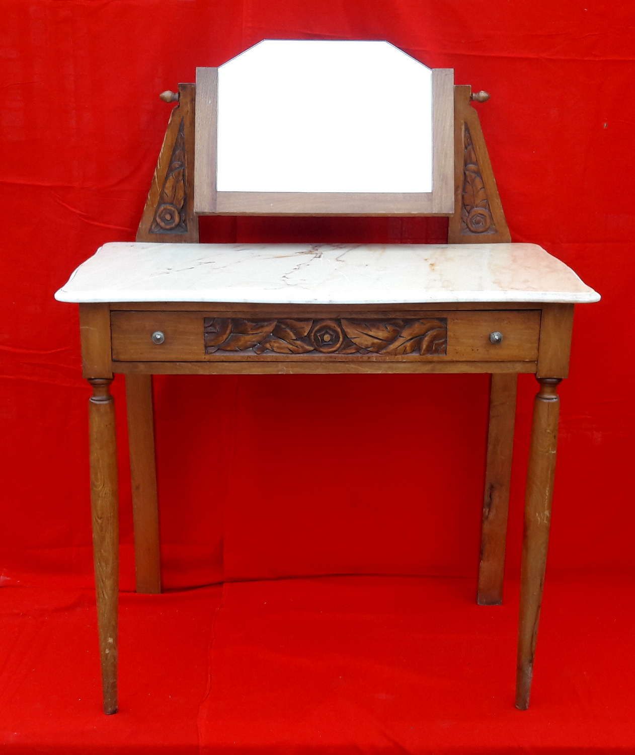 TABLE DE TOILETTE ART DECO / ART DECO WASHSTAND TABLE