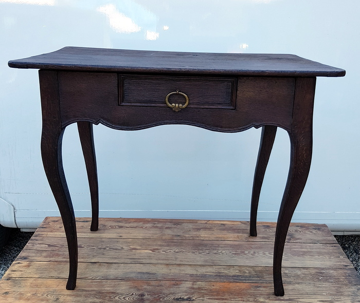 TABLE LOUIS XV 1 TIROIR / LOUIS XV TABLE WITH 1 DRAWER