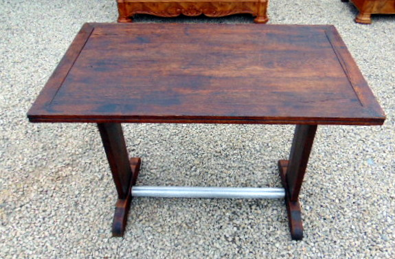 TABLE DE BAR 50'S TOUT BOIS/ 50'S WOODEN COFFEE TABLE