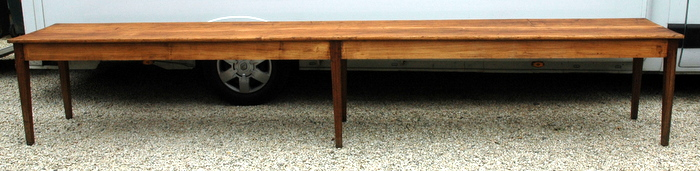IMMENSE TABLE DE FERME 4.36M / HUGE FARM TABLE 4.36 M