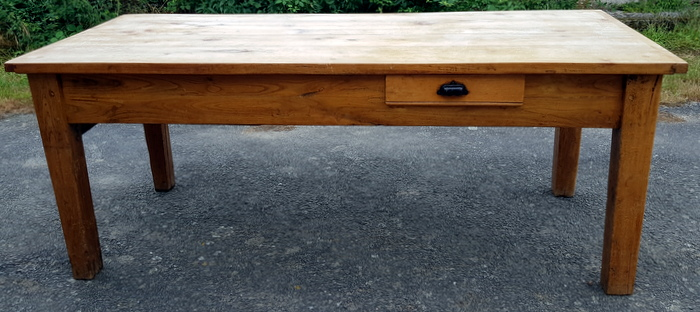 TABLE DE FERME CHENE CLAIR / LIGHT OAK FARM TABLE