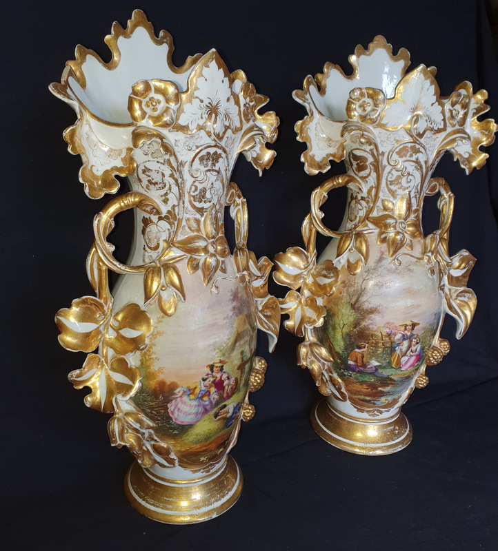 2 GRANDS VASES D'EGLISE / 2 BIG CHURCH VASES