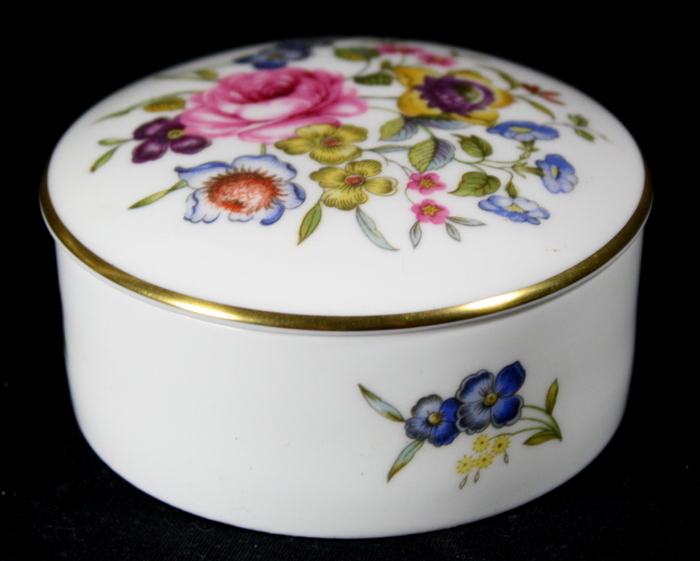 BONBONNIERE ROYAL WORCESTER /  ROYAL WORCESTER CANDY BOX